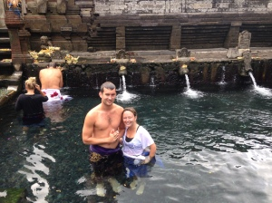 Holy Water Experience at the Tirta Empul Temple