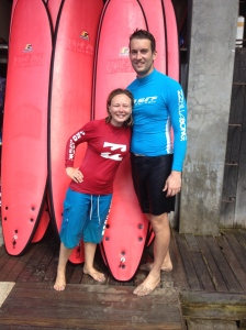 Surf Lessons at Pro Surf School in Kuta